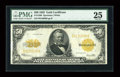 Large Size:Gold Certificates, Fr. 1200 $50 1922 Gold Certificate PMG Very Fine 25....