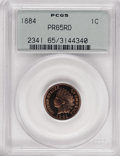 Proof Indian Cents: , 1884 1C PR65 Red PCGS. PCGS Population (48/41). NGC Census: (23/18). Mintage: 3,942. Numismedia Wsl. Price for NGC/PCGS coi...
