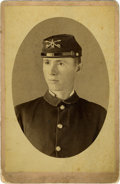 Photography:Cabinet Photos, Cabinet Card of Union Soldier R.C. McKnight, circa 1864....