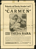 "Movie Posters:Drama, Carmen Lot (Fox, 1915). Heralds (2) (5.5"" X 8"") and (8"" X 11""). Drama.... (Total: 2 Items)"
