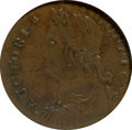 Colonials, 1788 COPPER Connecticut Copper, Draped Bust Left XF45 NGC. Ex: TheGarrett Collection Part III (Bowers and Rudy Galleries, ...