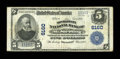 National Bank Notes:Kentucky, Mount Sterling, KY - $5 1902 Plain Back Fr. 608 The Montgomery NBCh. # 6160. ...