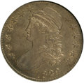 Bust Half Dollars, 1829/7 50C AU55 NGC. O-101a. NGC Census: (27/90). PCGS Population(29/57). Numismedia Wsl. Price for NGC/PCGS coin in AU55...