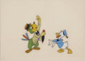 Animation Art:Production Drawing, Donald Duck and Jose Carioca Animation Production Cel Set-UpOriginal Art (Disney, undated)....