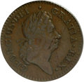 Colonials: , 1723/2 1/2P Hibernia Halfpenny XF45 PCGS. PCGS Population (10/14).(#183). From The San Jose Collect...