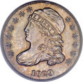 Bust Dimes, 1829 10C Medium 10C MS64 PCGS. CAC....