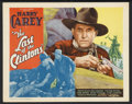 "Movie Posters:Western, The Last of the Clintons (Ajax Pictures Corporation , 1935). Title Lobby Card (11"" X 14""). Western. Starring Harry Carey, Be..."