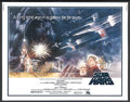 "Movie Posters:Science Fiction, Star Wars (20th Century Fox, 1977). Half Sheet (22"" X 28""). Science Fiction. Starring Mark Hamill, Harrison Ford, Carrie Fis..."