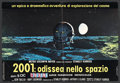 "Movie Posters:Science Fiction, 2001: A Space Odyssey (MGM, 1968). Italian Photobusta (18"" X26.5""). Science Fiction. Starring Keir Dullea, Gary Lockwood, W..."