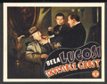 """Movie Posters:Horror, Invisible Ghost (Monogram, 1941). Lobby Card (11"""" X 14""""). Horror. Starring Bela Lugosi, Polly Ann Young, John McGuire, Clare..."""