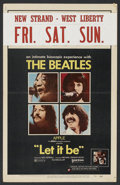 """Movie Posters:Rock and Roll, Let It Be (United Artists, 1970). Window Card (14"""" X 22""""). Rock andRoll Documentary. Starring The Beatles (John Lennon, Pau..."""