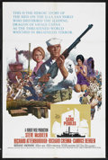 "Movie Posters:War, The Sand Pebbles (20th Century Fox, 1966). One Sheet (27"" X 41"").War. Starring Steve McQueen, Richard Attenborough, Candice..."