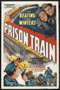"""Movie Posters:Crime, Prison Train (Equity Pictures, 1938). One Sheet (27"""" X 41""""). Crime.Starring Fred Keating, Linda Winters, Clarence Muse, Fai..."""
