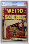 Golden Age (1938-1955):Science Fiction, Weird Science #8 (EC, 1951) CGC FN+ 6.5 Cream to off-whitepages....