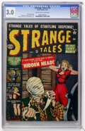 Golden Age (1938-1955):Horror, Strange Tales #10 (Marvel, 1952) CGC GD/VG 3.0 Cream to off-whitepages....