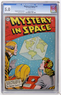 Golden Age (1938-1955):Science Fiction, Mystery in Space #22 (DC, 1954) CGC VG/FN 5.0 Cream to off-whitepages....