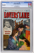 Golden Age (1938-1955):Romance, Lovers' Lane #40 (Lev Gleason, 1954) CGC VG 4.0 Off-white to white pages....