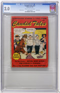 Golden Age (1938-1955):Miscellaneous, Candid Tales #nn (Kirby Publishing, 1950) CGC GD 2.0 Cream to off-white pages....