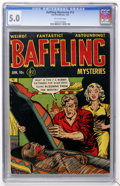 Golden Age (1938-1955):Horror, Baffling Mysteries #13 (Ace, 1953) CGC VG/FN 5.0 Off-whitepages....