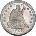 Seated Quarters, 1852 25C MS65 PCGS....