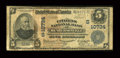 National Bank Notes:North Carolina, Hendersonville, NC - $5 1902 Plain Back Fr. 605 The Citizens NB Ch. # (S)10734. ...