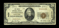 National Bank Notes:Pennsylvania, Connellsville, PA - $20 1929 Ty. 1 The Union NB Ch. # 6408. ...