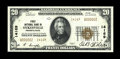 National Bank Notes:Pennsylvania, Sykesville, PA - $20 1929 Ty. 2 First NB Ch. # 14169. ...