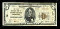 National Bank Notes:Pennsylvania, State College, PA - $5 1929 Ty. 2 The First NB Ch. # 7511. ...