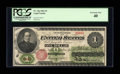 Fr. 17a $1 1862 Legal Tender PCGS Extremely Fine 40