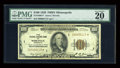 Small Size:Federal Reserve Bank Notes, Fr. 1890-I* $100 1929 Federal Reserve Bank Note. PMG Very Fine 20.. ...