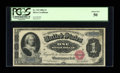 Fr. 215 $1 1886 Silver Certificate PCGS About New 50