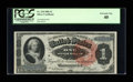 Large Size:Silver Certificates, Fr. 218 $1 1886 Silver Certificate PCGS Extremely Fine 40....