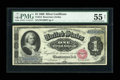 Fr. 215 $1 1886 Silver Certificate PMG About Uncirculated 55 Net