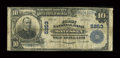 National Bank Notes:Pennsylvania, Monessen, PA - $10 1902 Plain Back Fr. 633 The First NB Ch. # 5253. ...