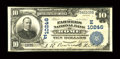 National Bank Notes:Pennsylvania, Rome, PA - $10 1902 Plain Back Fr. 628 The Farmers NB Ch. #(E)10246. ...