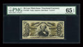 Fractional Currency:Third Issue, Fr. 1328 50c Third Issue Spinner PMG Gem Uncirculated 65 EPQ....