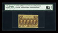 Fractional Currency:First Issue, Fr. 1280 25c First Issue PMG Gem Uncirculated 65 EPQ....