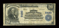 National Bank Notes:Wyoming, Kemmerer, WY - $20 1902 Plain Back Fr. 659 The First NB Ch. # 5480....