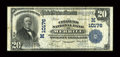 National Bank Notes:Wisconsin, Merrill, WI - $20 1902 Plain Back Fr. 654 The Citizens NB Ch. # (M)10176. ...