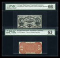 Fractional Currency:Third Issue, Fr. 1275SP 15c Third Issue Narrow Margin Pair....