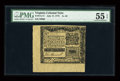 Colonial Notes:Virginia, Virginia July 17, 1775 1s3d PMG About Uncirculated 55 EPQ....