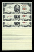 Small Size:Legal Tender Notes, Fr. 1513 $2 1963 Legal Tender Notes. 100 Consecutive Notes. Choice Crisp Uncirculated.. ... (Total: 100 notes)