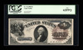 Large Size:Legal Tender Notes, Fr. 33 $1 1880 Legal Tender PCGS New 62PPQ....