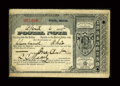Miscellaneous:Other, Ovid, MI- Postal Note 1¢ April 6, 1885. ...