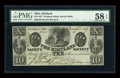 Obsoletes By State:Ohio, Kirtland, OH- The Kirtland Safety Society Bank $10 Mar. 1, 1837 G10Rust 8 Wolka 1424-12. ...
