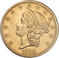 Liberty Double Eagles, 1858-O $20 AU53 NGC....
