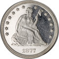 Proof Seated Quarters, 1877 25C PR66 Deep Cameo PCGS....