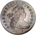 Early Half Dollars, 1807 50C Draped Bust MS63 PCGS. CAC....