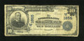 National Bank Notes:Nebraska, Nebraska City, NE - $10 1902 Plain Back Fr. 628 The Nebraska CityNB Ch. # (W)1855. ...