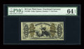 Fractional Currency:Third Issue, Fr. 1364 50c Third Issue Justice PMG Choice Uncirculated 64 EPQ....